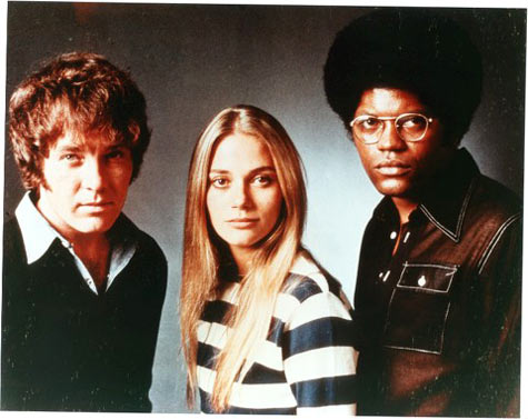 The Mod Squad were Pete (Michael Cole), Julie (Peggy Lipton), and Linc (Clarence Williams III)