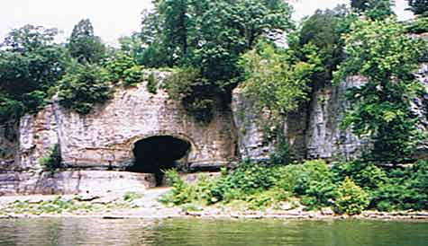 Cave-in-Rock, Shawnee County, southern Illinois
