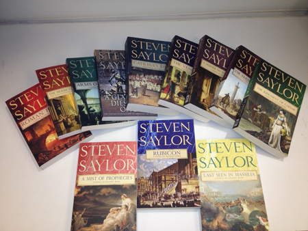 You could win all these great books from Steven Saylor