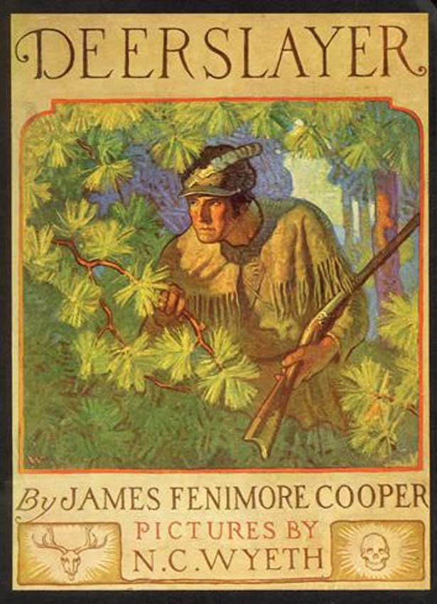 Cover of Deerslayer by James Fenimore Cooper