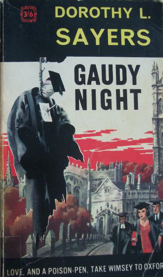 Cover of Gaudy Night by Dorothy L. Sayers