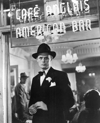 Richard Widmark as Harry Fabian from Night and the City
