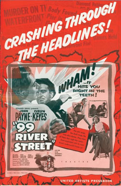 Press book for 99 River Street