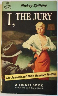 I, The Jury cover, the introduction of Mike Hammer