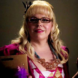 Criminal Minds Technical Analyst Penelope Garcia played by Kirsten Vangsness