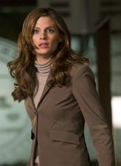 Stana Katic as Kate Becket in Castle.