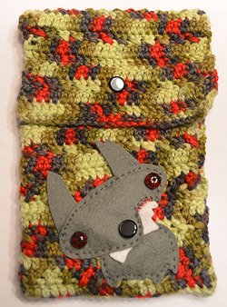 Zombie puppy ereader cover