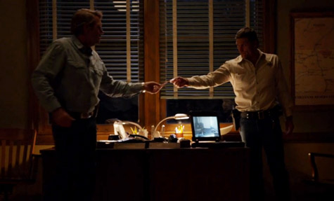 Walt and Branch (Bailey Chase) seem to mend fences over investigating Cady's accident
