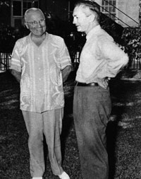 James Forrestal and Harry Truman