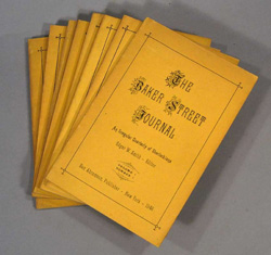 Issues of the Baker Street Journal