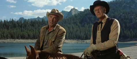 Ride the High Country (1962) stars Joel McCrae as Steve Judd and Randolph Scott as Gil Westrum.