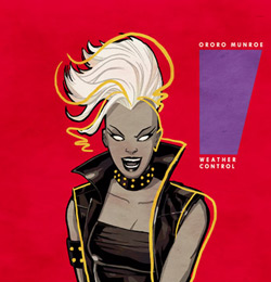 Mohawk Storm by artist Cliff Chiang / Marvel Comics